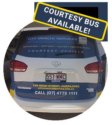City Vehicle Services Courtesy Bus