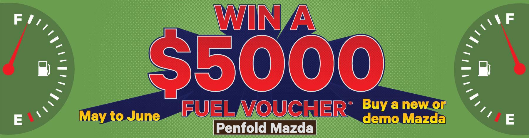 Win a $5000 Fuel Voucher