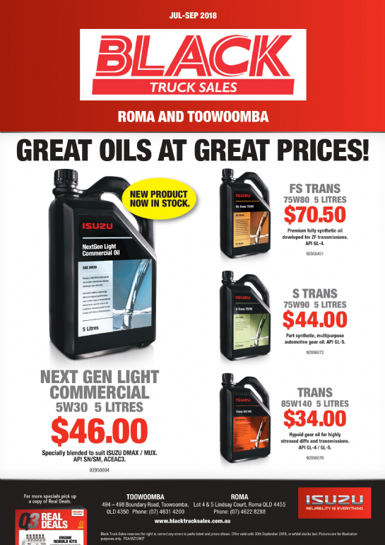 Great Oil at Great Prices