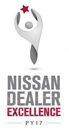 nissan dealer excellence award 2017