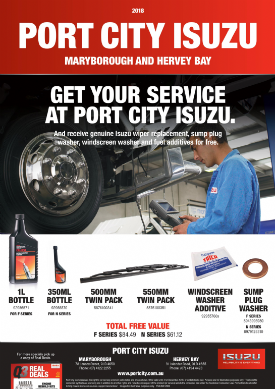 Port City Isuzu Service