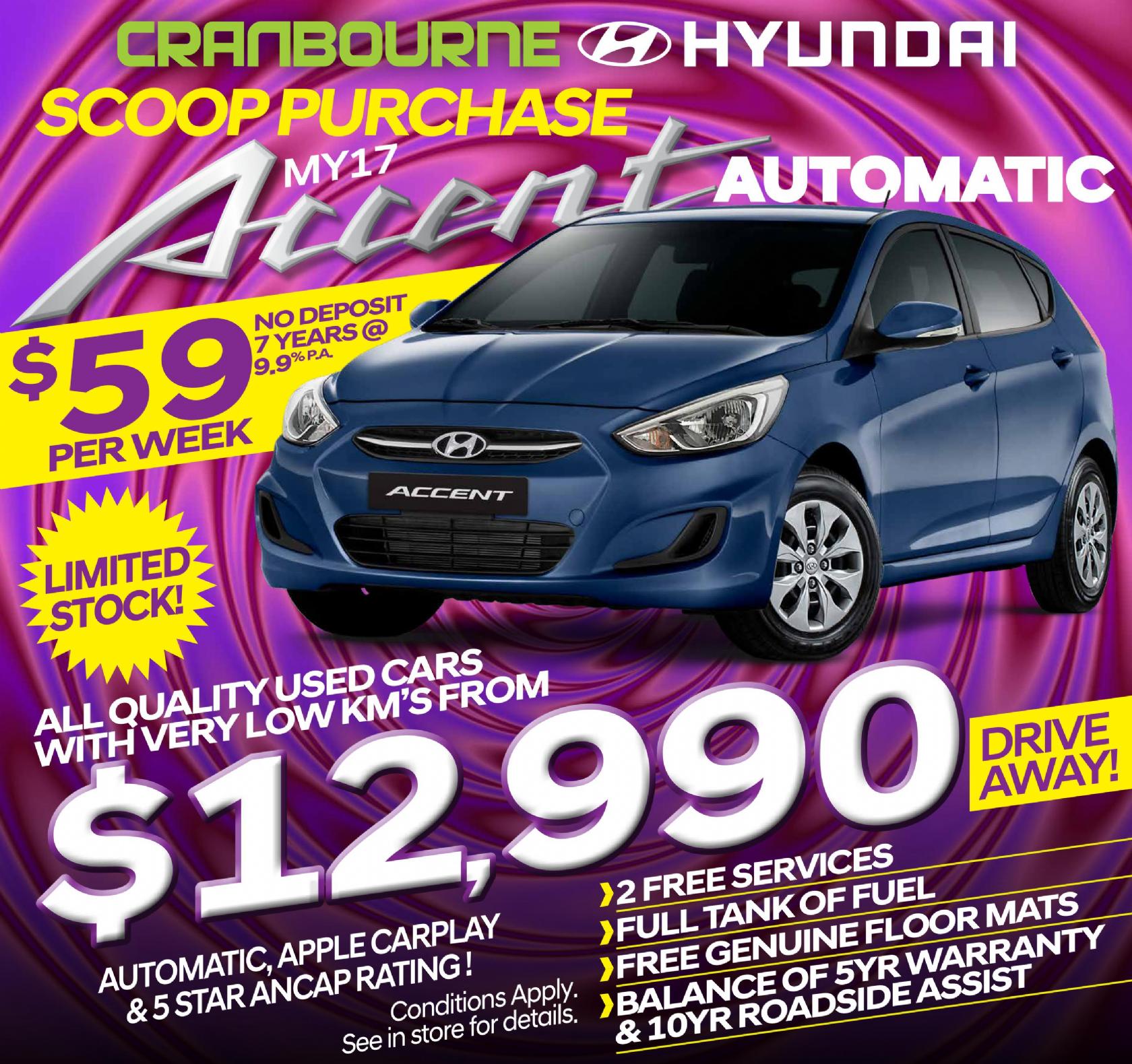 Hyundai Specials - Accent