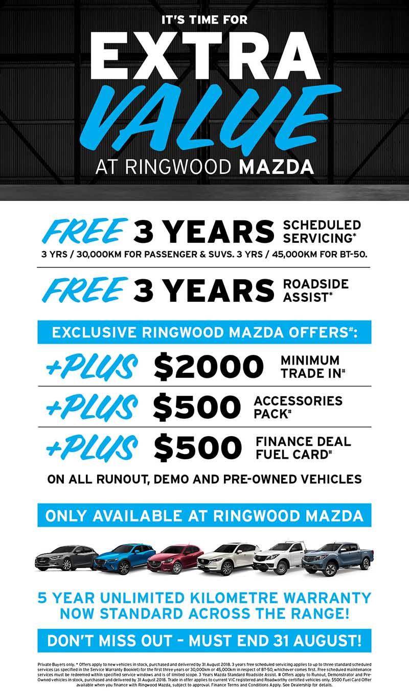 Rinwood Mazda -EXTRA VALUE