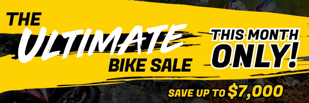 ultimate bike sale