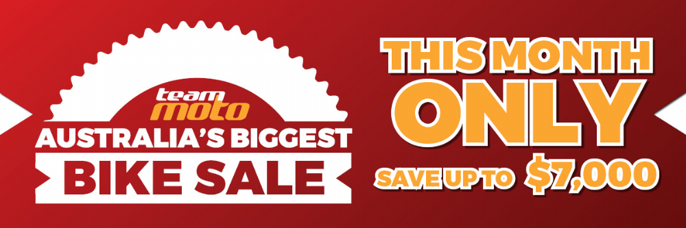 biggest bike sale