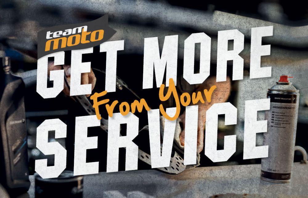 Book a motorbike service online