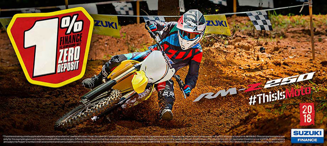 Olivers Motorcycles Suzuki
