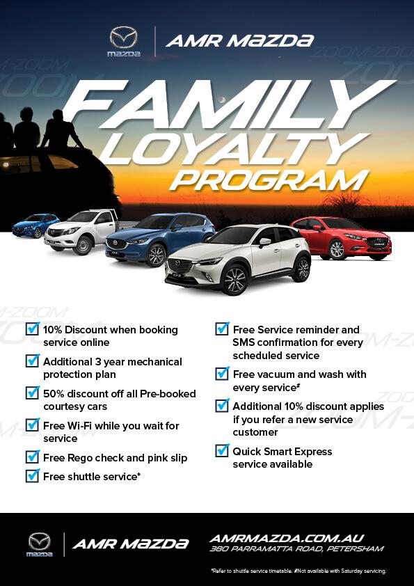 Amr Mazda Family Loyalty Program