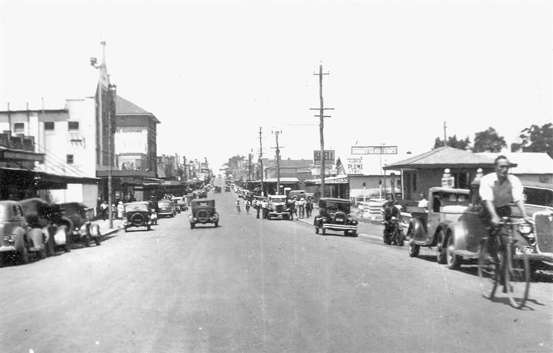 Mann St, Gosford 1940