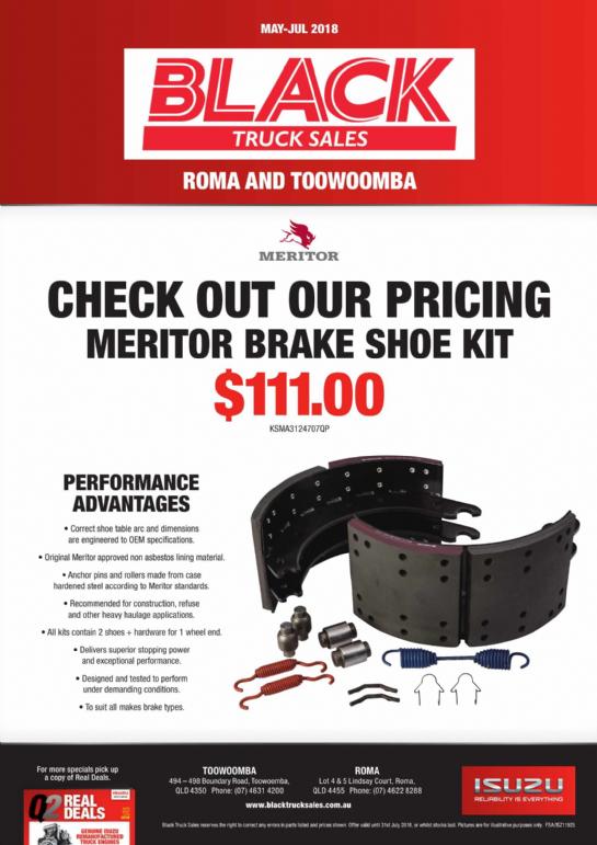 Meritor Brake Shoe Kit