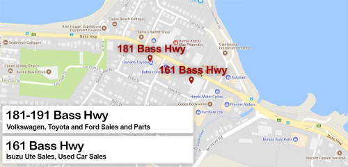 Gowans Motor Group - Locations