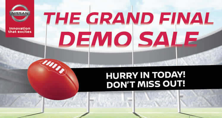 The Grand Final Demo Sale