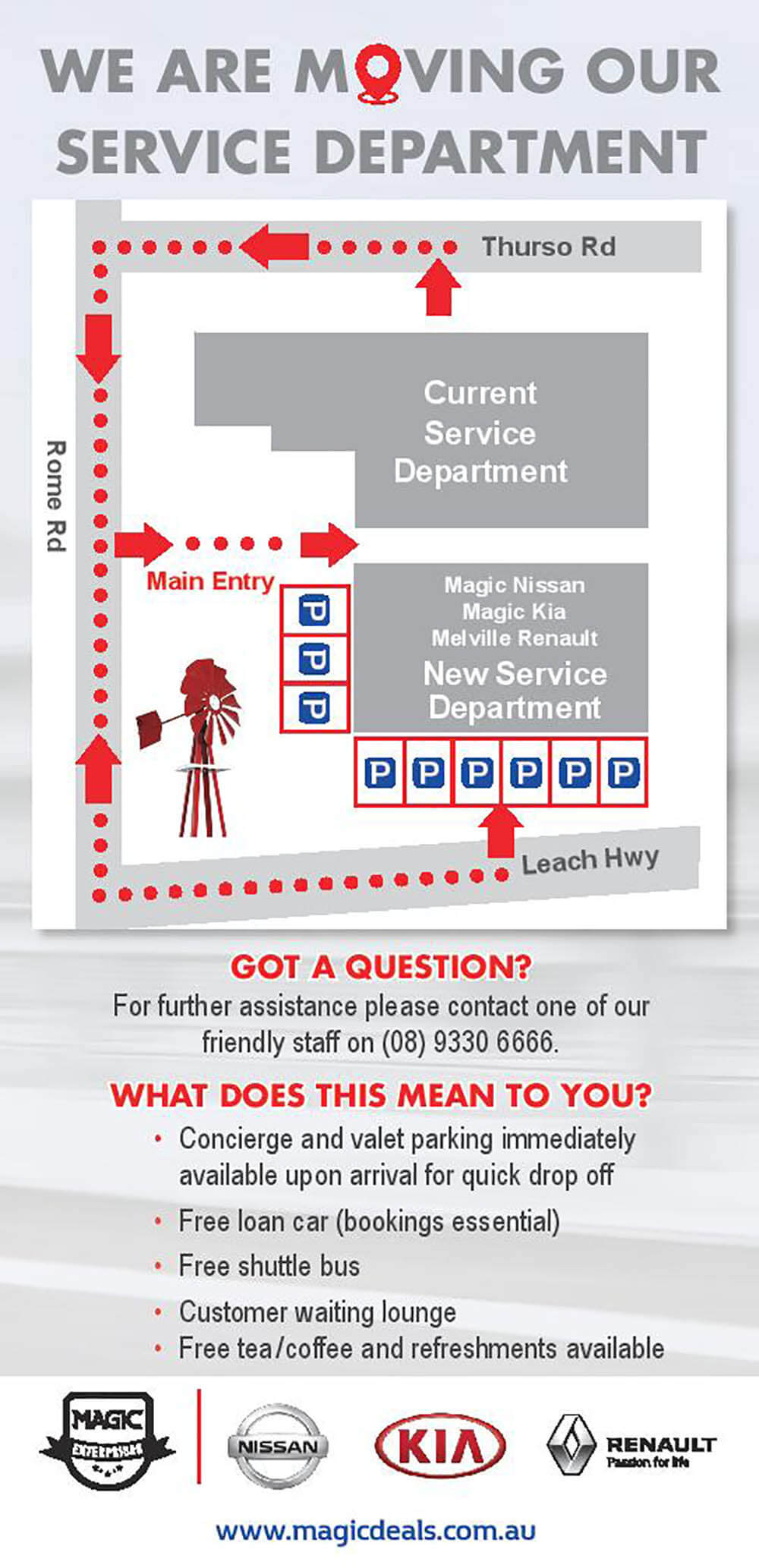 Magic Group Service Move